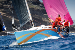 J/122 El Ocaso sailing Antigua