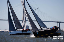 J/111s sailing Charleston Race Week
