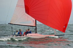 J/70 sailing Southern Bay regatta