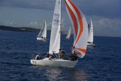 J/24 off Cronulla Sailing Club- Sydney, Australia