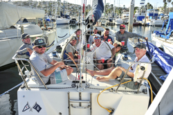 J/120 party at San Diego YC