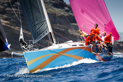 J/122 El Ocaso sailing Antigua Sailing Week