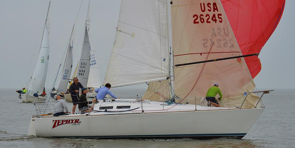 J/30 sailing Midwinters- New Orleans, LA