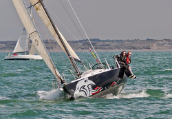J/105 Panther sailing RORC North Sea Race