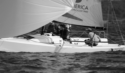 J/70 sailing South American Championship
