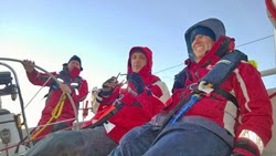 J/130 crew sailing Australia