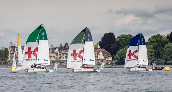 J/70s sailing in Germany league