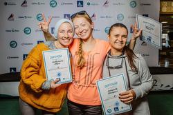 Russian J/70 women's sailing team