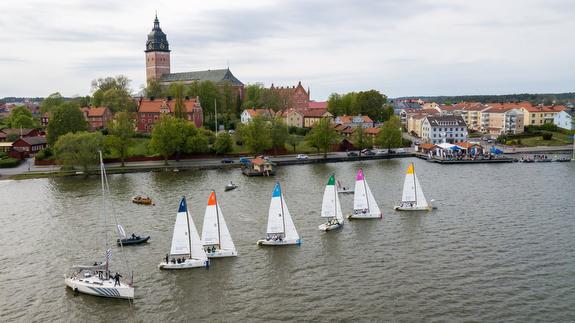 J/70s sailing Swedish league