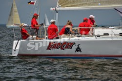 J/111 Bad Cat sailing Screwpile Challenge race