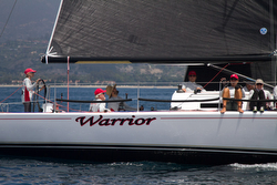 J/125 Warrior sailing Santa Barbara to King Harbor Race