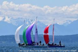 J/24 sailing off Seattle, WA