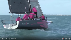 J88 sailing video Key West
