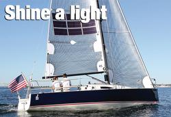 J/88 electric boat- solar sails, hydro regen