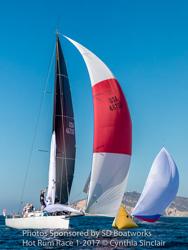 J/125 sailing Hot Rum series