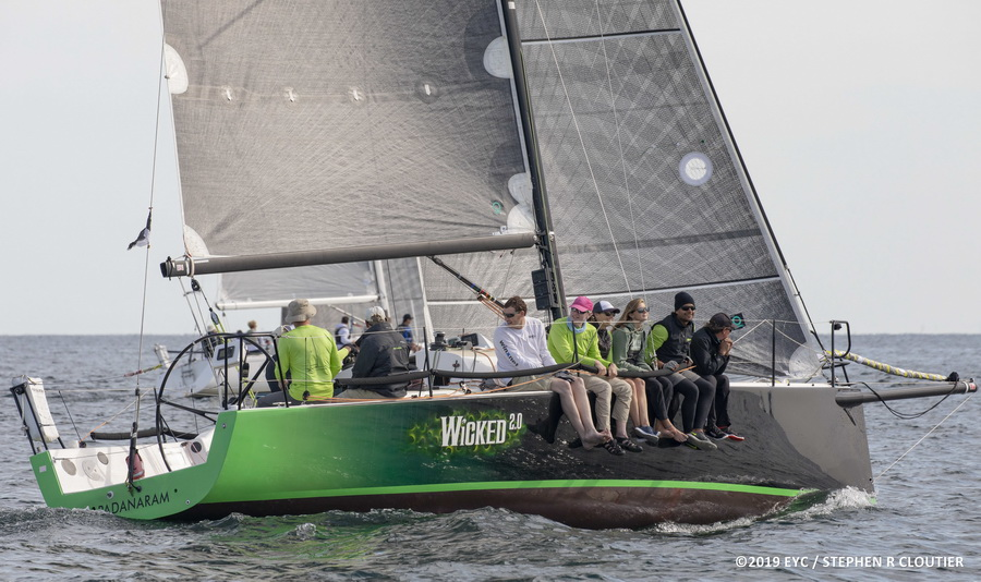 J/111 sailing Edgartown Race Week
