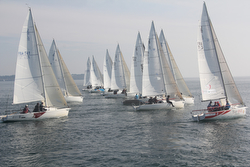 J/80 sailing off France