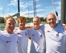 Wilson's J/70 SOAK Racing team