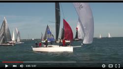 J/Boats sailing Conch Republic Cup regatta sailing video