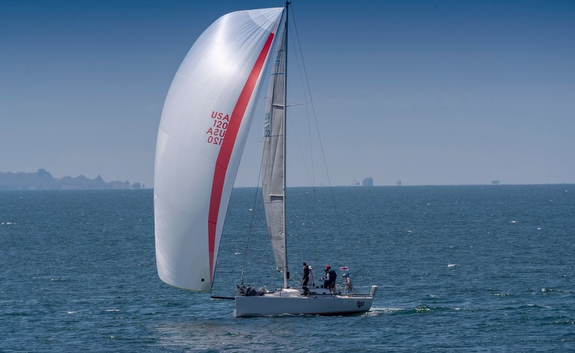J/111 sailing Newport Ensenada Race