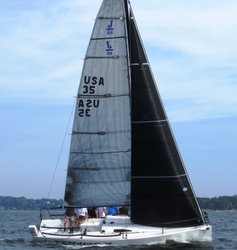 J/88 North Sails boat- tuning
