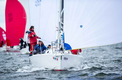 J/105 sailing Chicago NOOD Regatta