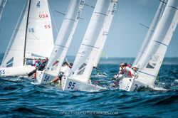 J/70s sailing NYYC One-Design Regatta