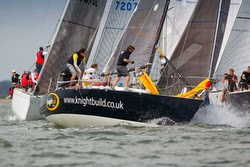 J/35 bengal magic sailing IRC Nationals off Cowes, England