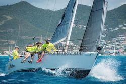 J/105 Solstice sailing St Maarten Heineken Regatta