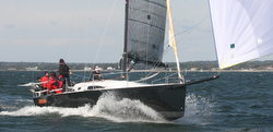 J/111 Andiamo sailing Manhassest Fall series