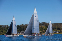J/105s sailing in Chile