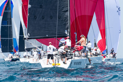 J/111s sailing Chicago North Americans