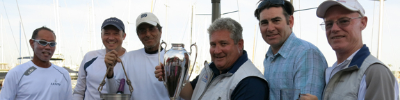 J/105 Sanity crew- winners Yachting Cup