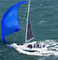 J/120 sailing Rolex Big Boat Series