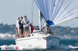 J/120s sailing San Diego NOOD regatta
