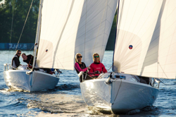 J/70s sailing in Moscow, Russia at Royal Yacht Club