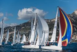 J/70s sailing off Monaco