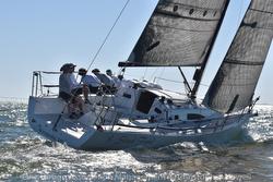 J/111 sailing offshore