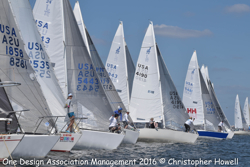 J/24 sailing Midwinters