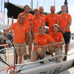 J/111 BLUR sailing team