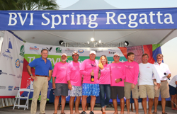 J/88 Touch2Play wins silver at BVI Spring