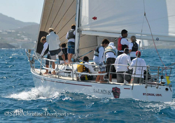 J/36 Paladin sailing with St Croix youth/ kids crew