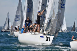 J/24s sailing Downeast Regatta