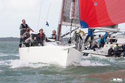 J/109 sailing Hamble Winter series
