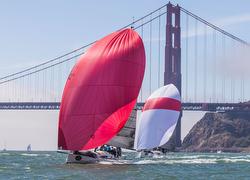J/111s sailing Rolex Big Boat Series- San Francisco