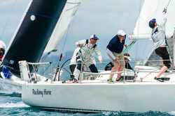 J/105 sailing Chicago NOOD Regatta
