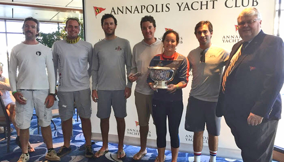 New York YC wins Annapolis 3-2-1