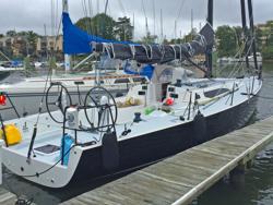J/121 offshore speedster- Annapolis docks