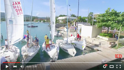 J/22 Jammin Jamaica sailing video