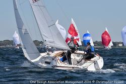 J/22 Midwinters- sailing upwind